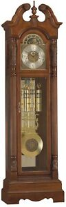 Ridgeway Rochdale Grandfather Clock LOW COST GUARANTY R2563
