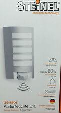 Steinel Sensor-Außenleuchte L 12 Wand mit Bewegungsmelder 180° Sensorlampe
