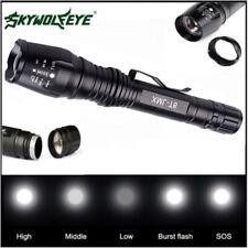 12000LM Linterna Foco Xml T6 LED 5Modes Lámparas Impermeable con Zoom Luz Noche