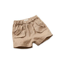 NEW Toddler Boys Shorts Boys Beige/Natural Linen Shorts Size 2 Years 24 months