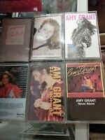 Amy Grant Tape Cassette Collection Lot Of 6 Christian music 1977-1994