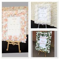 wedding seating plan Floral Welcome Signs Flower Walls Centre Pieces
