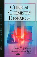 Clinical Chemistry Research - New Book