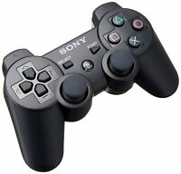 Sony Original PlayStation 3 Official Dualshock 3 Wireless Controller - PS3 Black