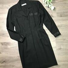 MARY ANNE RESTIVO size 2 Black vintage shirt dress