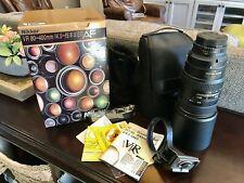 Nikon NIKKOR 80-400mm f/4.5-5.6D ED AF VR Lens