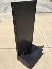 Pegboard Gondola Shelving Wall Unit Display Retail Store Fixture With Base Shelf