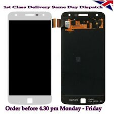 Motorola Moto Z Play Xt1635-02 Xt1635-01 LCD Display Touch Screen Digitizer UK White