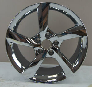 "2014-18 Corvette Front Wheel 19"" X 8.5"" Chrome 5-Spoke New 19302113 20986502"