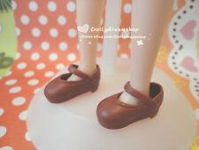 Doll Shoes~Takara Licca Chocolate Brown school shoes 1PAIR/Jenny/Big Feet Barbie