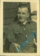 Inter War Royal Engineers Private at Blackdown Camp surrey 1930