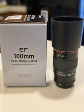 Canon EF 100mm f/2.8L IS USM Macro Lens (Mint!)