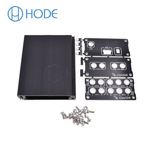 Aluminum Enclosure Black Cover case for LimeSDR Type-A or Type-B UK