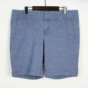 J.CREW Frankie Bermuda Chambray Shorts 14