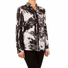 Locker sitzende Langarm Damenblusen, - Tops & -Shirts in Größe XS