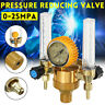 Argon Pressure Reducing Gauge Mig Tig Flow Meter Control Valve 2 Tub