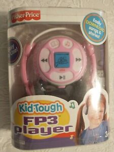Fisher Price Kid Tough FP3 Player Easily Download Songs & Stories K3420