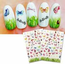 Beautiful Butterfly Fantasy 3D Back Glue Nail Decal Nail Decoration Nail Art