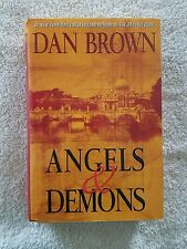 Angels and Demons by Dan Brown (2003, Hardcover), 1st Atria Books HC Edition
