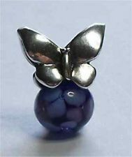 Authentic (Genuine) TROLLBEADS SUMMER (Blue Butterfly) - New