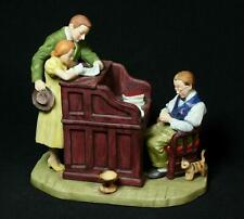 Vintage Gorham Norman Rockwell The Marriage License Figurine 1976