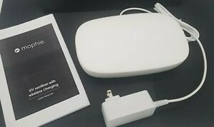 White Mophie UV Sanitizer with Wireless Charging MUV-WC-201
