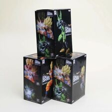 3pcs/set Dragon Ball Z figure Dramatic Showcase Super Saiyan Son Goku Son Gohan