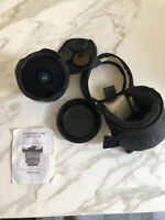 Arsat 30mm Medium format Lens For Contax 645 With Manual, Filters & Padded Case