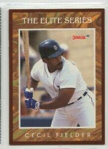 1991 Leaf Cecil Fielder The Elite Series insert /10000 RARE
