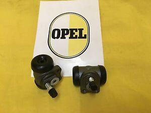 NEU Satz = 2x Radbremszylinder hinten Opel Olympia Rekord P1 + P2 Bremszylinder
