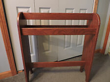 Free standing Quilt rack stand dark finish