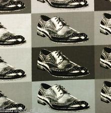 MO77 Men's Shoes Designer Oxfords Blocks Fashion Moda Retro Cotton Quilt Fabric