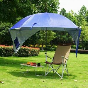 Sun and Rain Canopy Umbrella Tent for Fishing Camping Park Beach Sports Events