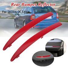 Rear Left Right Bumper Reflector For SKODA OCTAVIA MK2 1Z 1Z0945105A 1Z0945106A
