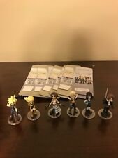 FINAL FANTASY Square Enix 2007 Trading Arts Mini Figure Vol 1 Complete Set of 6