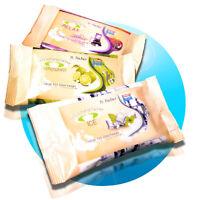 15x / 45x Erfrischungstücher Erfrischungstuch Duft Auswahl: Relax Lemongrass Ice