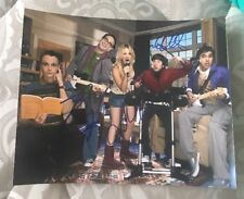 BIG BANG THEORY CAST SIGNED 8X10 PHOTO CUOCO GALECKI HELBERGW/COA+PROOF RARE WOW
