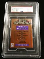 1996 Topps Chrome PSA10 1/8 (2017) 1 OF 1 RAREST! Kobe Bryant AUTO.ON EBAY LOT.