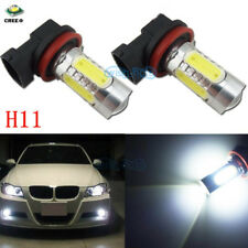 2x H8 White 11W LED Fog Light For 2010-2015 Hyundai Sonata Santa Fe DM 2013 2015