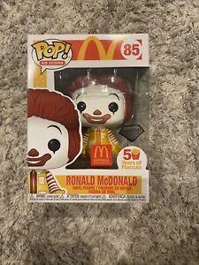Ronald Mcdonald Diamond Australia Maccas Exclusive Pop Vinyl McDonalds