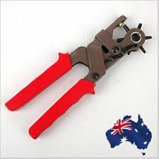 Leather Belt Eyelet Hole Punch Puncher Forcep Pliers Craft Tool Kit TPLIE1250