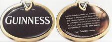 Guinness Beer Mat Coaster - New Unused