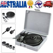 16Pcs Wood Metal Alloy Hole Saw Cutter Box Set Kit Cutting Tools Drill 19-127mm