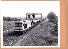 1991 Railway photo 60.035 Freight Train Heading out of Kettering . 10x8 photo