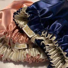 Double Layer reversible Satin Bonnet - Adult's, Children's & Baby - Handmade