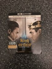 King Arthur: Legend of the Sword (4K Ultra HD + BLU-RAY + DIGITAL) NEW