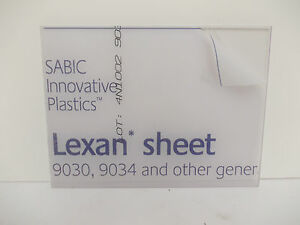 1 mm A4 Clear Polycarbonate Sheet 297 mm x 210 mm Virtually unbreakable-Visors