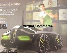 LOOK Brookstone Rover 2.0 Andriod Apple Wireless Spy Vehicle Cam App Control Blk