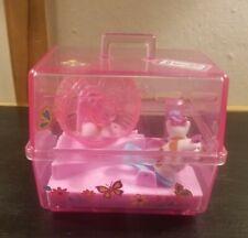 Vintage 1995 Mattel Barbie Wind Up Pet Hamster Cage 3 Hamsters Cute Works