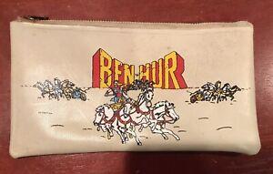 "Original 1959 Ben Hur Pencil Case 8""X 41/4"""